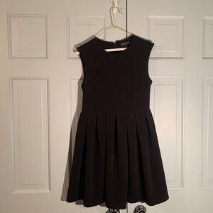 Rampage Women's Black Fit and Flare Dress